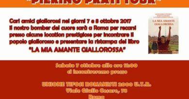 """CLUB GIALLOROSSI. """"PIERINO PRATI TOUR"""""""