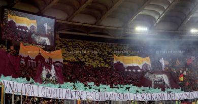 RIVISTA LA ROMA. Il MaxiPoster: La Scenografia del Derby