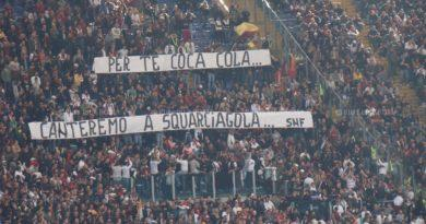 "ACCADDE OGGI… 10 aprile: 2010. La Curva Sud saluta Roberto Venturelli ""Er Cocacola"""