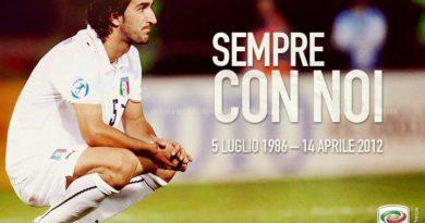 ACCADDE OGGI… 14 aprile: 2012. Il calcio perde Piermario Morosini.