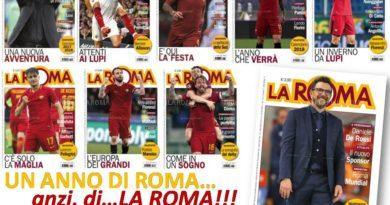 RIVISTA LA ROMA. Un anno di ROMA… anzi, di LA ROMA!
