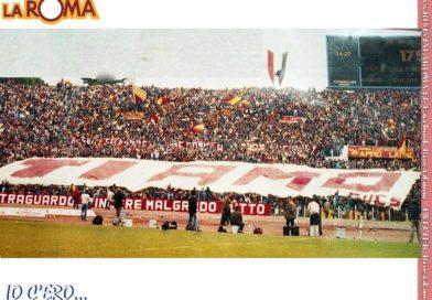 ACCADDE OGGI… 23 ottobre: 1983. Novecento metri d'amore giallorosso…